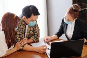 Signing landlord tenant agreement